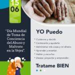 DÍA MUNDIAL DE TOMA DE CONCIENCIA DEL ABUSO Y MALTRATO EN LA VEJEZ